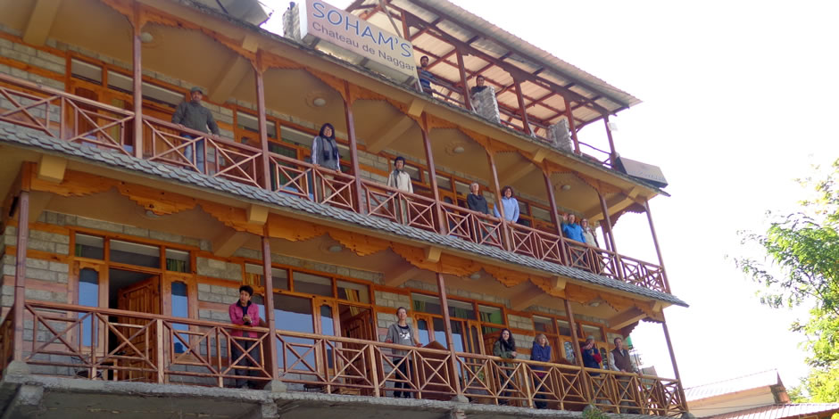 Chateau De Naggar, Hotels in naggar